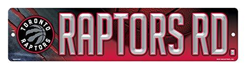 fan products of NBA Toronto Raptors High-Res Plastic Street Sign