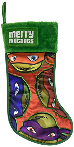 UPC 086131303777, Kurt Adler Teenage Mutant Ninja Turtles Applique Stocking, 19-Inch