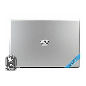 MacBook TV Commercial Eye Glasses Apple Overlay Art Vinyl Decal Sticker Skin Apple Mac Book Air Pro Laptop Notebook People Love