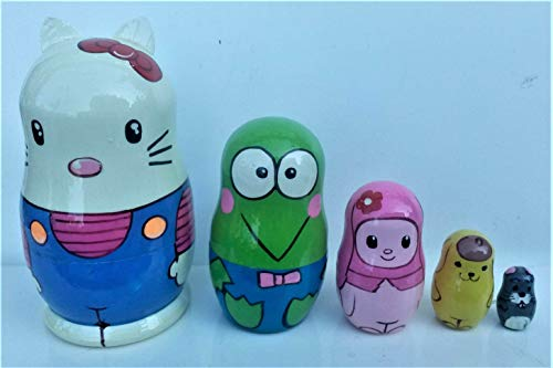 Top 10 best nesting dolls hello kitty for 2019