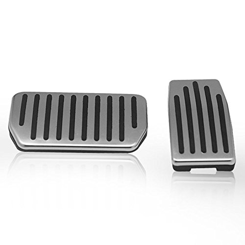 Antislip Gas & Brake Pedals for Tesla Model S and Model X, Auto Aluminum Pedal Covers (A Set of 2) (Cover Brake Link)