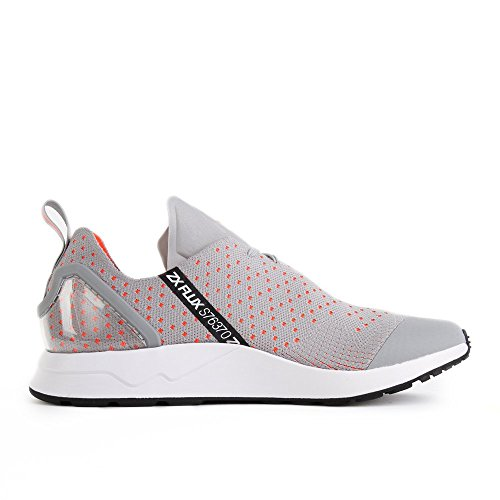 Adidas Originals Heren Zx Flux Adv Asymmetrische Primeknit Trainers Us10.5 Grijs