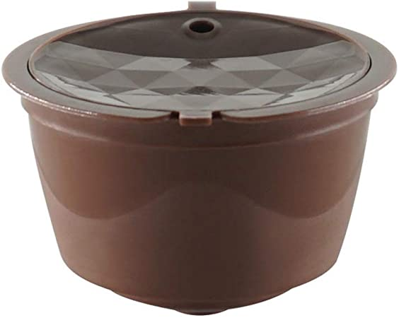 ZYHZP 1pcs / Paquete de café Dolce Gusto cápsula Reutilizable de plástico Compatible con el Recambio del Filtro de café Nestlé (Color : Coffee): Amazon.es: Hogar