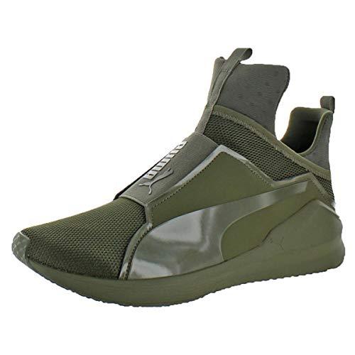 Puma Men's Fierce Core Mono Ankle-High Leather Fashion Sneaker – Sports Center Store