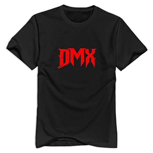 GYKU Men's Dmx T-Shirt Black US Size XXL,100% Organic Cotton]()