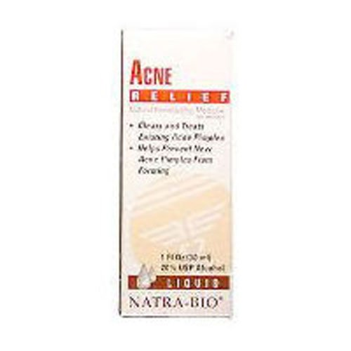 Natrabio Acne Relief Tablets, 60-Count (Pack of 2)
