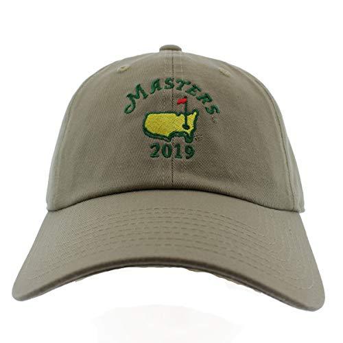 (2019 Masters Khaki Caddy Hat)