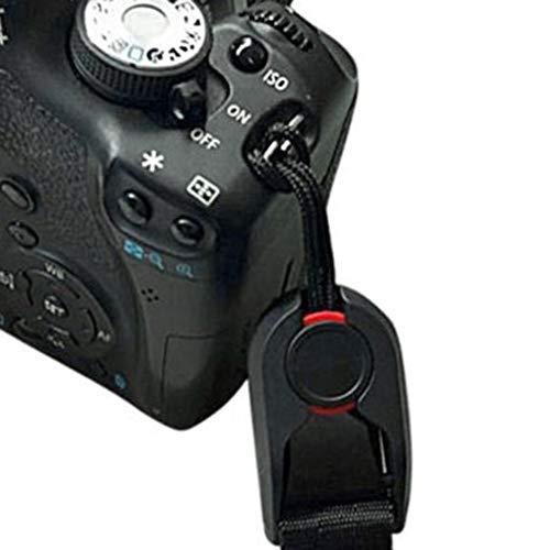 HGJVBFGH1 Multi-Functional Camera Strap Quick-Release Belt for Digital Sports Camera Black