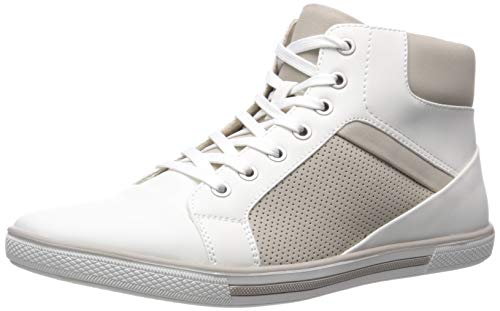 Unlisted, A Kenneth Cole Production Men's Crown Sneaker E, White, 8.5 M US