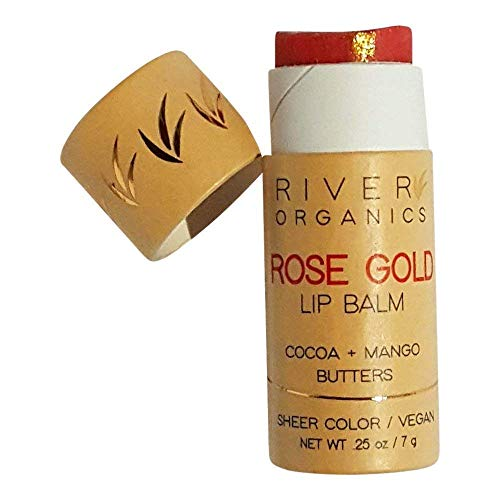 River Organics, Tinted Vegan Lip Balm in