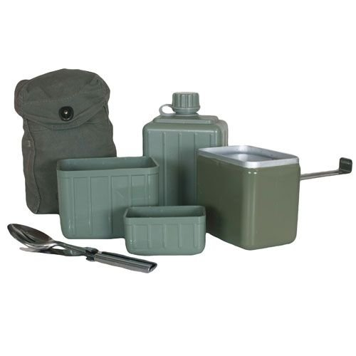 Fox Outdoor Serbian Military Mess Kit, Multicolor by Fox Outdoor