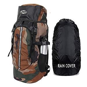 POLESTAR Hike CAMO Rucksack with RAIN Cover/Trekking/Hiking BAGPACK/Backpack Bag