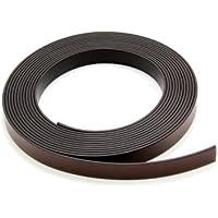 Magneet Expert® 12,7 mm breed x 1,5 mm dik magneetband met premium zelfklevend - polariteit B (1 m lengte)