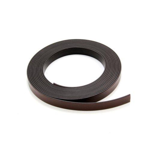 Magnet Expert - Nastro magnetico adesivo, 1 m, larghezza: 12,7 mm, per decorazioni Magnet Expert Ltd MT12A(PA)-1X1M