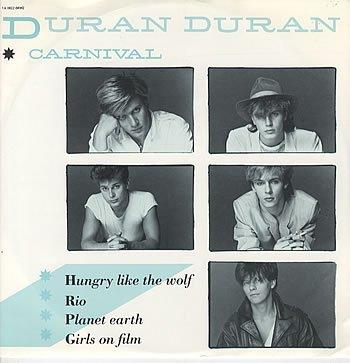 Duran Duran - Duran Duran Carnival 1982 Dutch 12