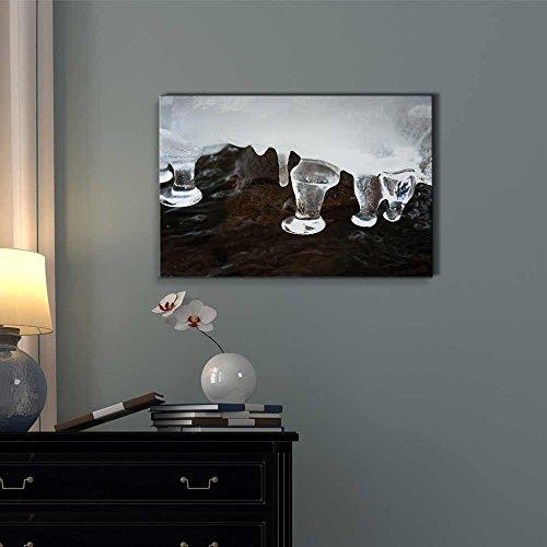 Beautiful Winter Scenery Icicle Nature Beauty Wall Decor