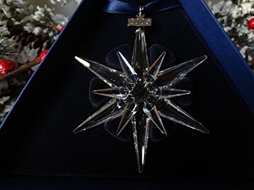 Swarovski, 2005 Annual Snowflake / Star Christmas Ornament #680502