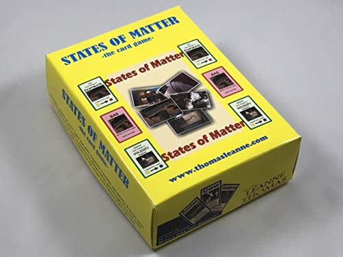 States of Matter, The Card Game by Leanne Thomas, 1 Deck of 60 Cards]()