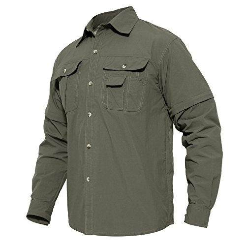 rt Outdoor Climbing Convertible Breathable Comfortable Short Sleeve Shirt ()