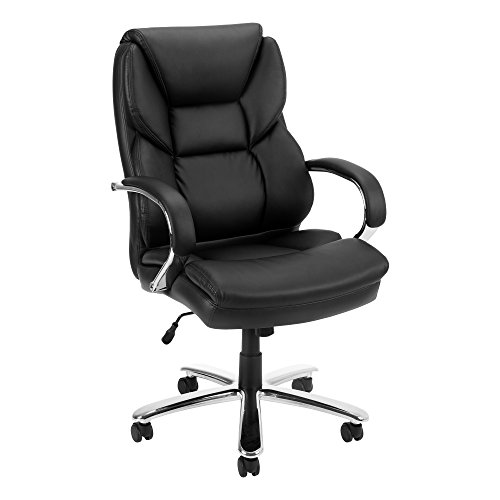 (Norwood Commercial Furniture NOR-OUG4734-SO Everest Series Big & Tall Executive Chair, Black)