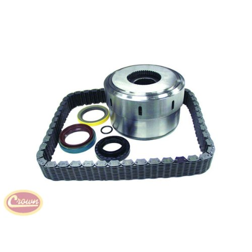 Crown Automotive 5012329AA-K2 Coupling, Seal and Chain Kit by Crown Automotive