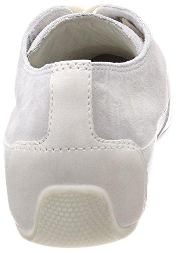 Donna Camoscio Cooper Basse Sneaker Perla Grau Candice wIgRqCC