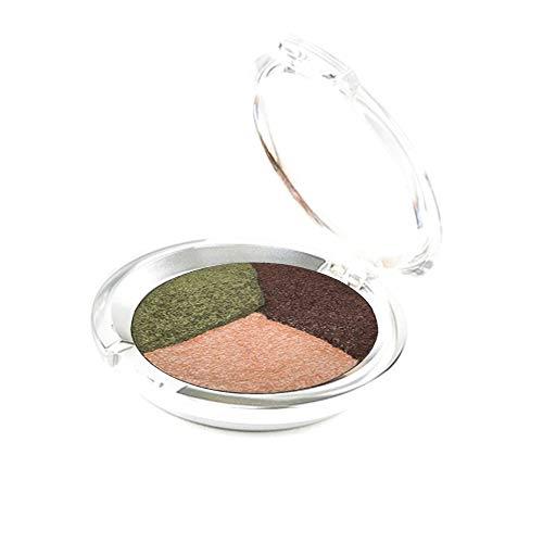 Ageless Derma Mineral Makeup Baked Eyeshadow Trio-Vegan Eye shadow (Olive)