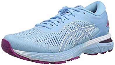 Asics Gel-Kayano 25, Zapatillas de Running para Mujer, Azul (Skylight/Illusion Blue 401), 35.5 EU