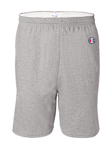Champion Men's  6-Inch Oxford Gray   Cotton Jersey Shorts - X-Large