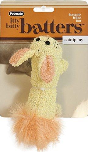 Itty Bitty Shells - Petmate Booda Itty Bitty Batters Rabbit Toy, None