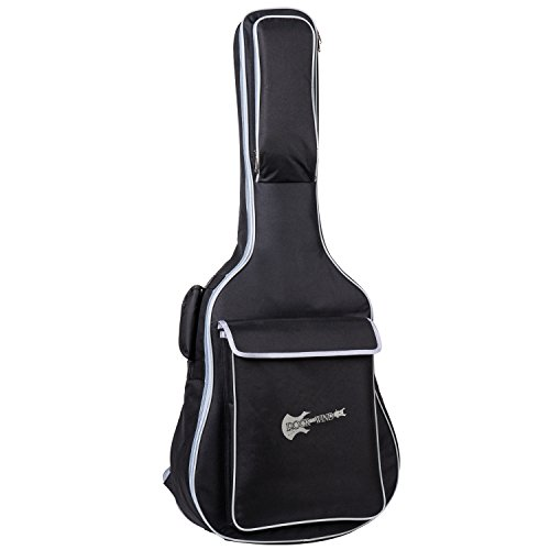 Aliyes Acoustic Class Guitar Gig Bag Full Size Metal Zippers Carrying Bag 41