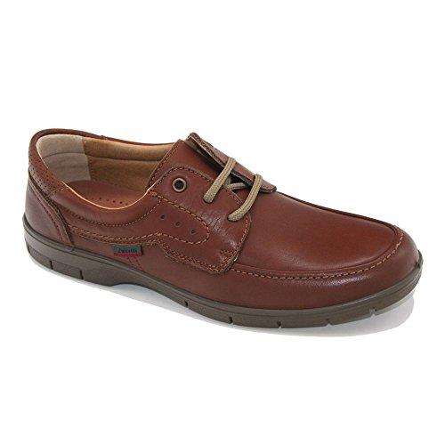 Zapato cordones caballero en piel Cuero de Luisetti.