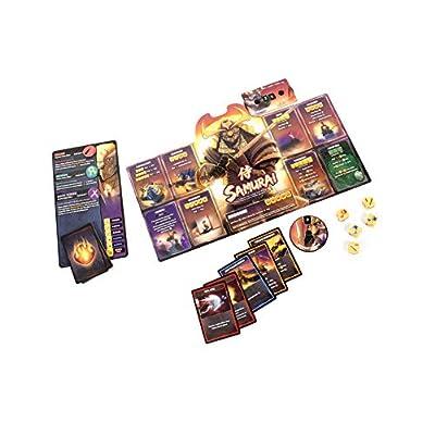 Gunslinger vs Samurai -Dice Throne: Season Two Board Game: Toys & Games