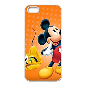 iPhone 5 5s Cell Phone Case White Mickey Mouse GY9256682