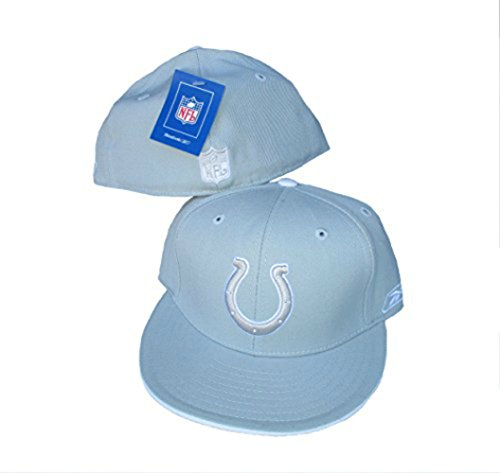 Genuine Merchandise Indianapolis Colts Fitted Size 7 5/8 Hat Cap Gray ()
