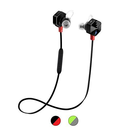 FIIL CARAT In the Ear Active Sport Earphones Headphones- Black/Red by FIIL