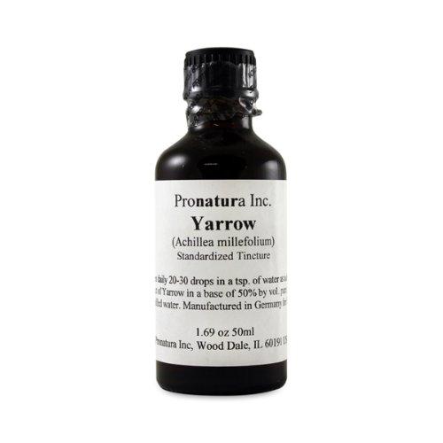 Yarrow Teinture normalisé 50ml de liquide par Pronatura