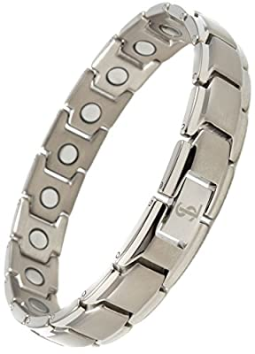 Titanium Magnetic Bracelet for Pain Relief by Smarter LifeStyle