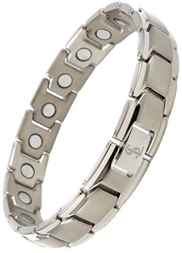 Elegant-Titanium-Magnetic-Therapy-Bracelet-Pain-Relief-for-Arthritis-and-Carpal-Tunnel