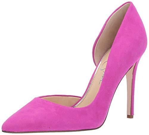 Jessica Simpson Women's PRIZMA Pump, hot Shot Pink, 7.5 M US (Pink Shoes Jessica Simpson)
