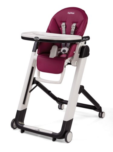 Peg Perego Siesta High Chair, Raspberry (Peg Perego Prima Pappa Best High Chair)