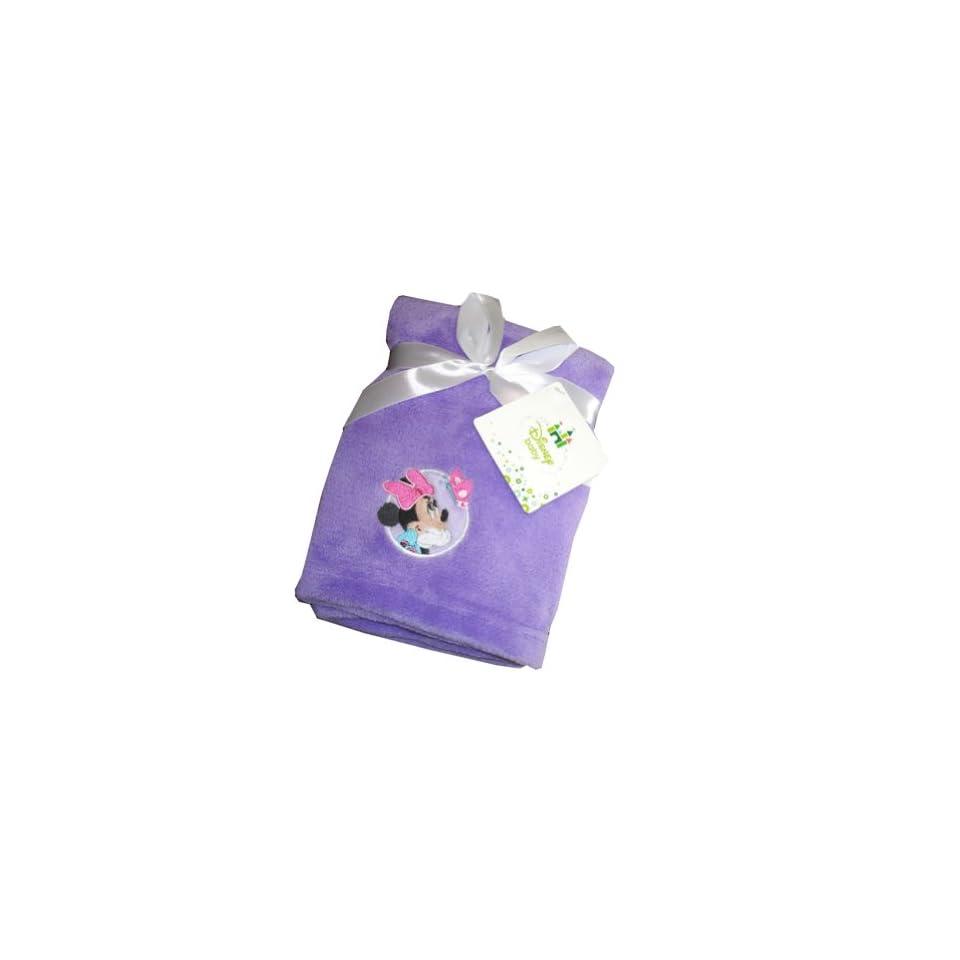 Disney Minnie Mouse Baby Soft Plush Blanket 30 X 36
