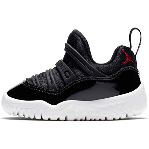 Jordan Retro 11 Little Flex Black/Gym Red-White (TD) (9 M US Toddler) (Jordans Shoes For Toddlers)
