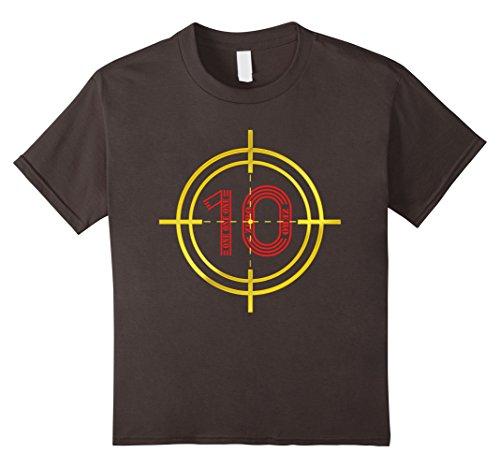 Kids Funny 2007 T-shirt Target 10 Years Old 10th Birthday Gift 10 Asphalt - Target Vintage T-shirt