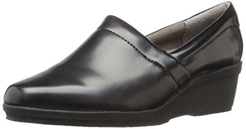 LifeStride Women's Klass Work Shoe,black sparkle,6.5 M US