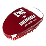 Hard Wave Brush For Wolfing | Curved Wolfing Brush By Wrightling (Maroon)