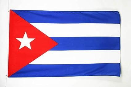 BANDERA de CUBA 150x90cm - BANDERA CUBANA 90 x 150 cm - AZ FLAG