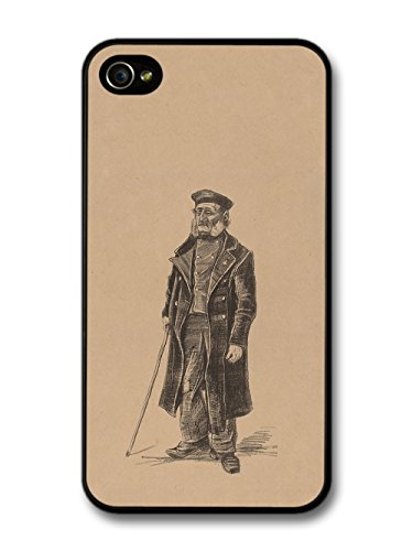 Vincent Van Gogh Orphan Man Standing Artist Art Vintage case for iPhone 4 4S