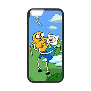 Finn-The-Human iPhone 6 Plus 5.5 Inch Cell Phone Case Black Phone cover Y4459308
