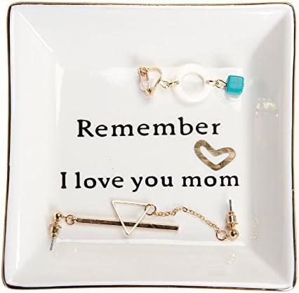 HomeSmile Ceramic Decorative Trinket Remember